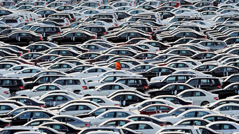Россияне купили 3,86 млн легковых автомобилей с начала года