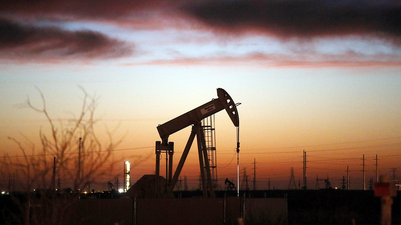 Цена на нефть Brent в ходе торгов растёт