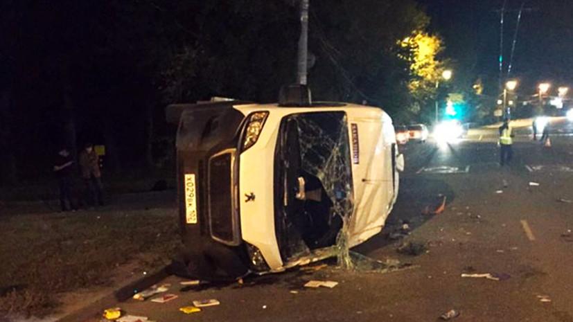 В Челябинске рассказали о состоянии пострадавших в ДТП с микроавтобусом