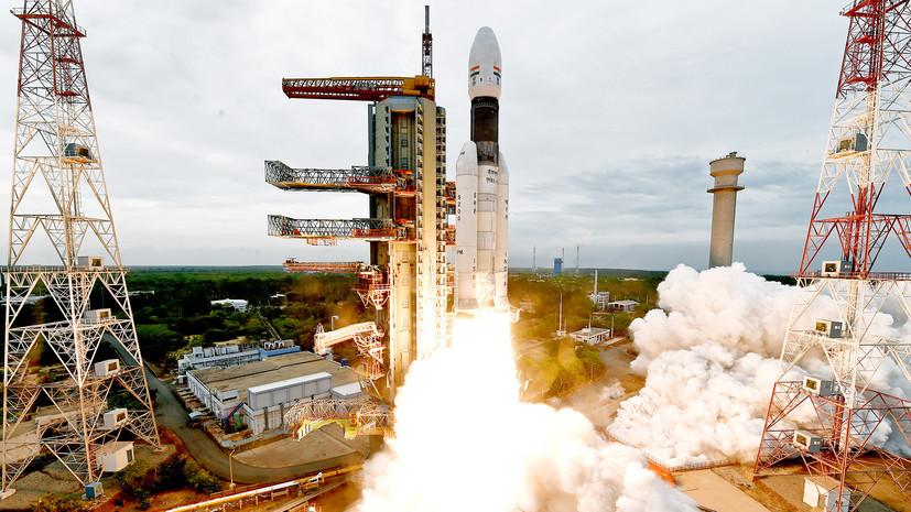 Индия вывела станцию «Чандраян-2» на орбиту Луны