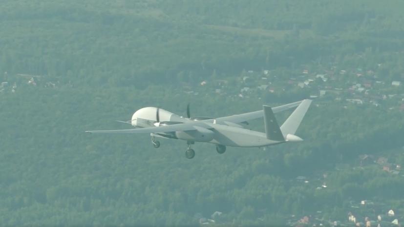 Минобороны опубликовало видео первого полёта беспилотника «Альтиус-У»