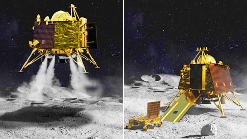 Подготовка к посадке: Индия успешно вывела станцию «Чандраян-2» на лунную орбиту