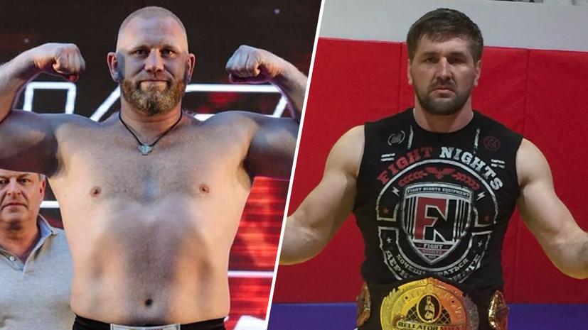 Возвращение после удара в пах и новый шанс экс-чемпиона: Харитонов и Минаков выступят на турнире Bellator 225