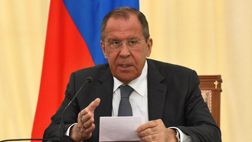 Лавров: Россия будет противодействовать давлению на Венесуэлу