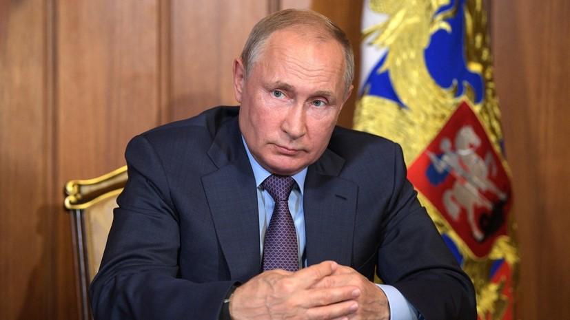 Путин: погибшие в Белом море сотрудники выполняли важную задачу