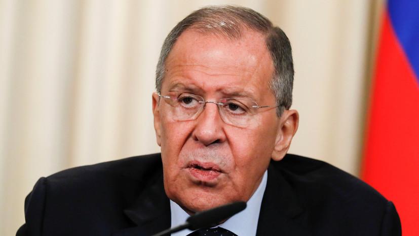 Лавров оценил возможность обмена заключёнными с Украиной