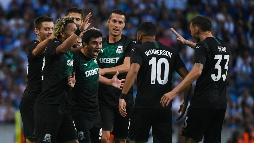 Krasnodar Announced The Starting Lineup For The Champions League Qualifying Match With Olympiacos Teller Report