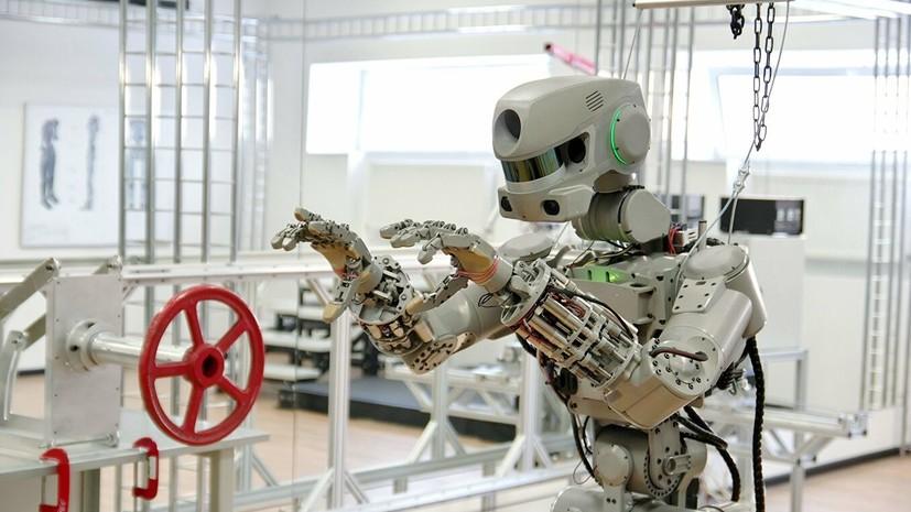 Разработчик рассказал, какие задачи стоят перед роботом FEDOR на МКС