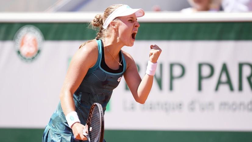 Блинкова обыграла Бузарнэску и вышла в 1/4 финала турнира WTA в Бронксе