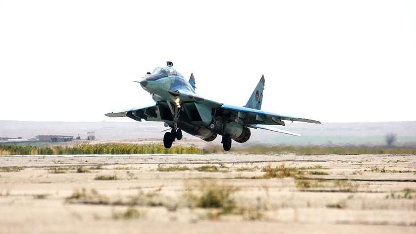 Стала известна причина крушения МиГ-29 ВВС Азербайджана
