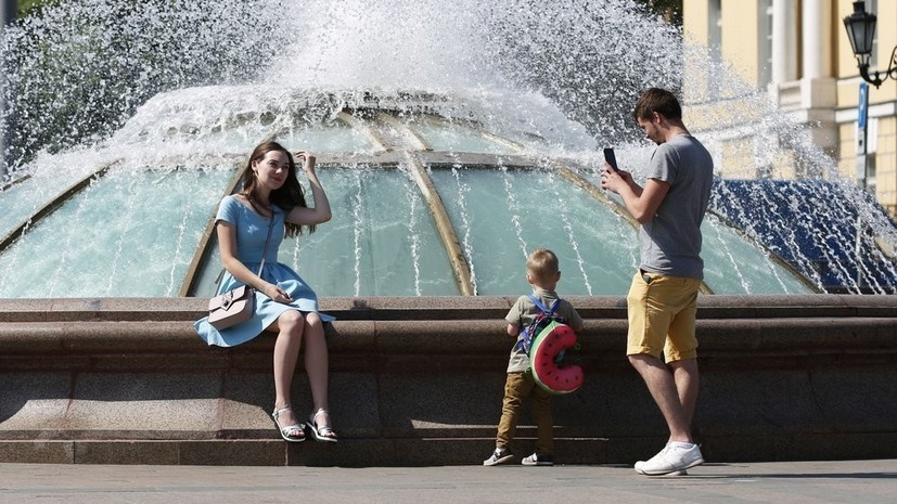 Ночь на 22 августа в Москве стала самой тёплой с начала месяца