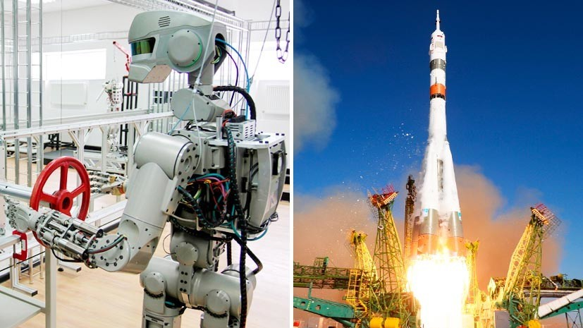 Управляемый космонавт: Россия впервые отправила на орбиту робота FEDOR