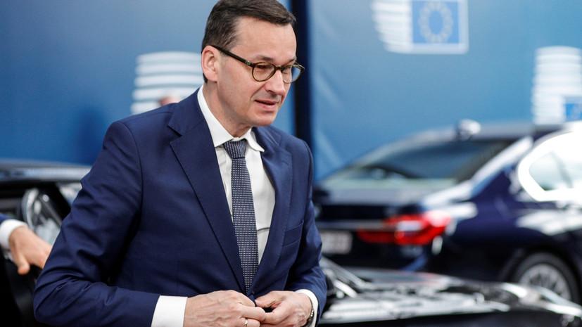 Премьер Польши выступил за создание новой базы НАТО в стране