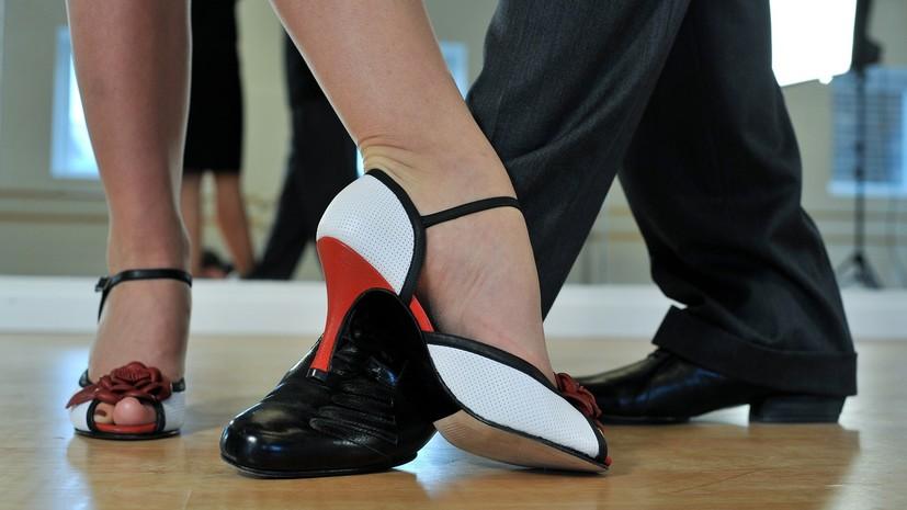 Русский танцор ударил партнершу кулаком влицо вовремяЧМ