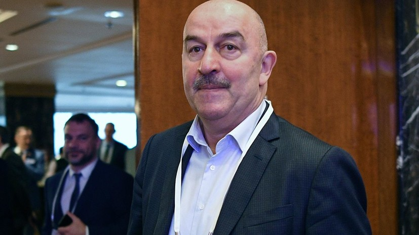 Черчесов рассказал о формировании состава сборной России на предстоящие матчи