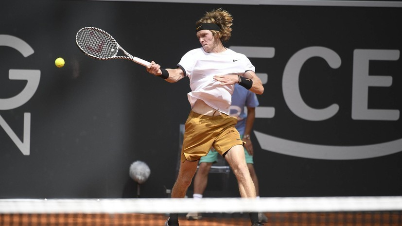 Рублёв сыграет с Циципасом на старте US Open