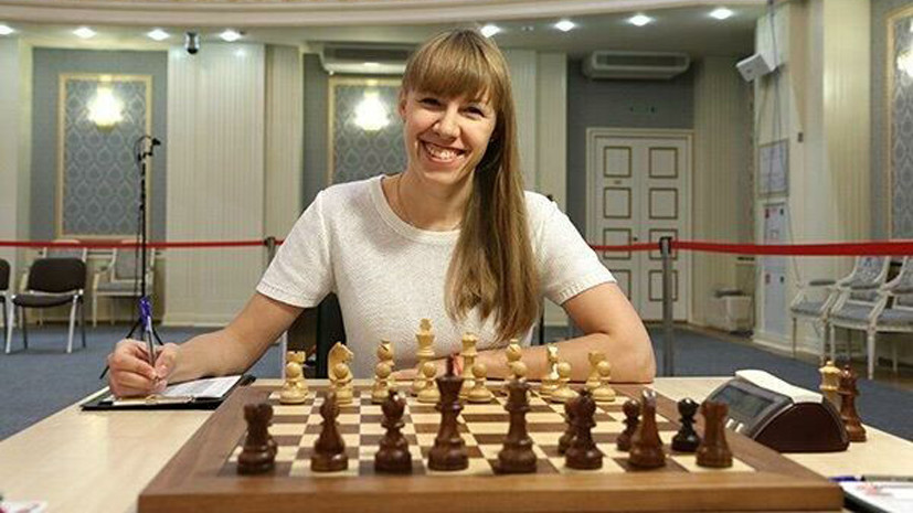 Гиря стала чемпионкой России по шахматам
