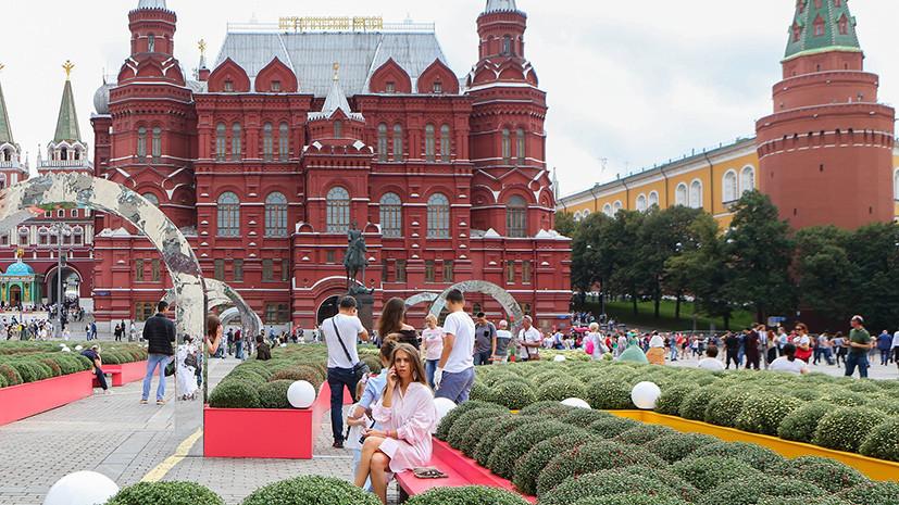 В Москве 23 августа ожидается до +23 °С