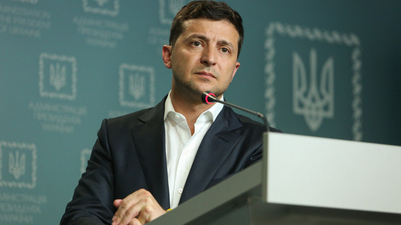 Зеленский заявил о жёсткой позиции Киева по «возвращению» Крыма