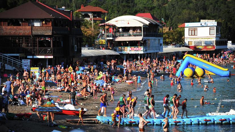 Крым принял 4,5 млн туристов с начала года