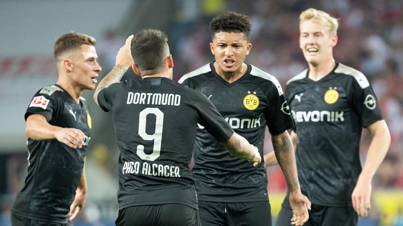 Мяч Санчо помог «Боруссии» обыграть «Кёльн» в матче чемпионата Германии по футболу