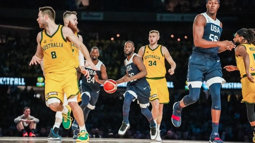 Сборная США по баскетболу проиграла впервые за 13 лет