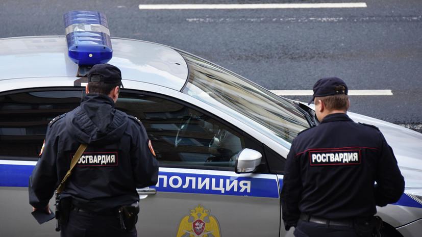 Полиция проверяет данные о стрельбе в Красногорске