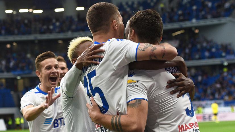 «Динамо» добыло гостевую победу над «Тамбовом» в седьмом туре РПЛ