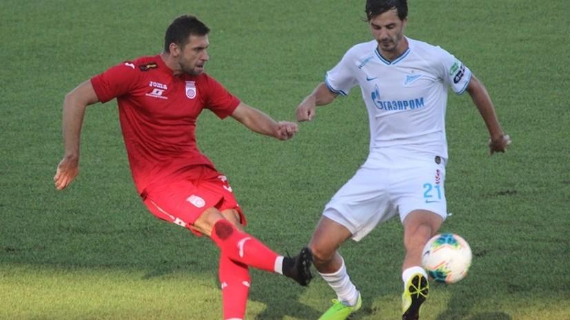 «Уфа» обыграла «Зенит» впервые в истории клуба