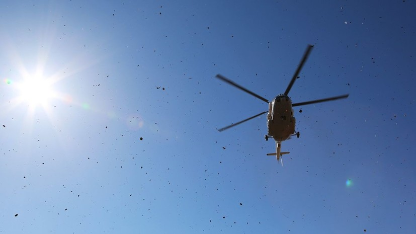 Названа возможная причина падения вертолёта Ми-2 на Кубани