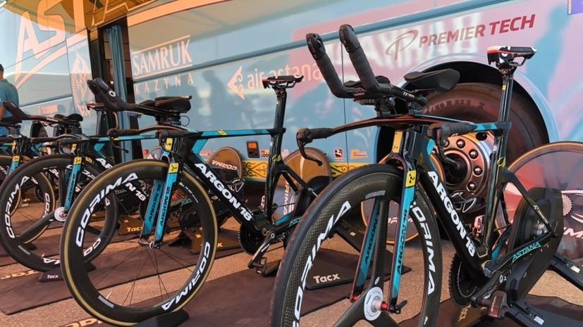 Велокоманда Astana Pro Team победила на первом этапе «Вуэльты»