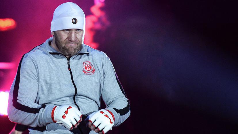 Российский боец Харитонов нокаутировал американца Митриона на турнире Bellator в США