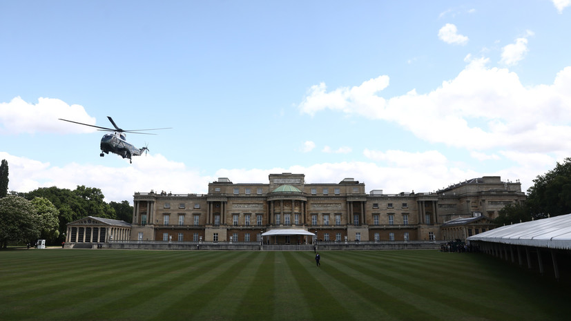 СМИ: Елизавета II пожаловалась на испорченный из-за Трампа газон