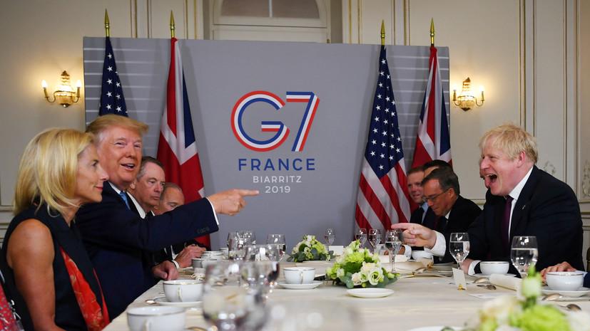 Трамп заявил о возможности приглашения Путина на G7 в США