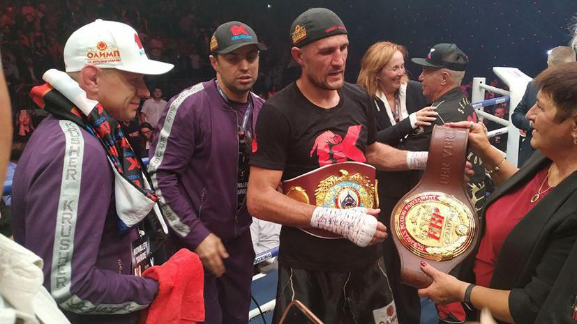 «Проявил чемпионский характер и победил»: что говорили после успешной защиты титула Ковалёвым