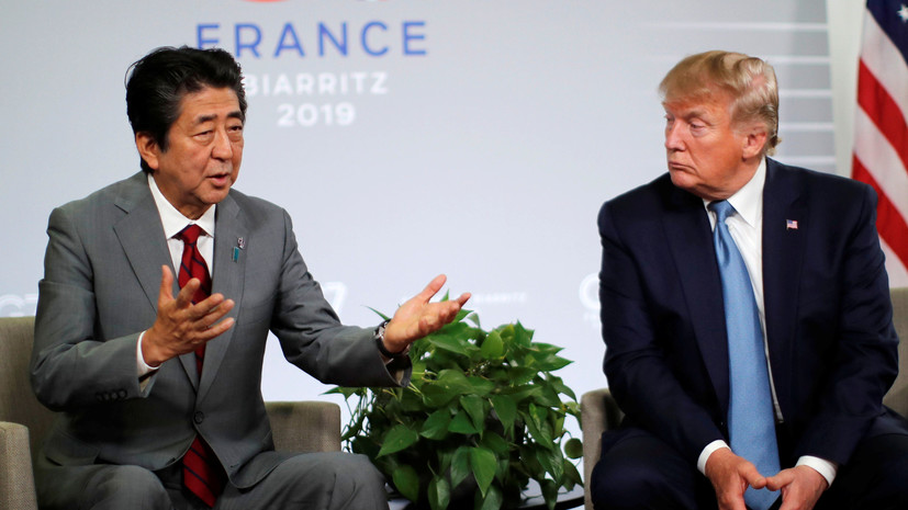 Трамп и Абэ достигли соглашения по торговой сделке