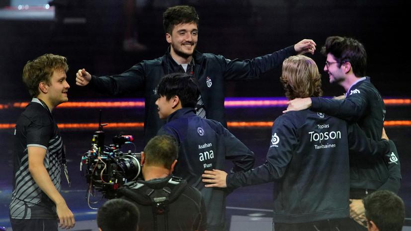 Команда OG второй раз подряд выиграла The International по Dota 2
