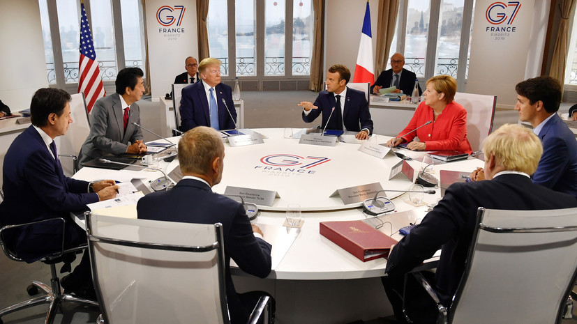 В Кремле надеются на здравый смысл членов G7 по отношению к России