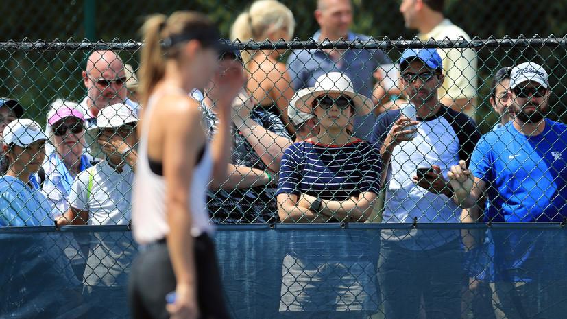 Шарапова сохранила 87-е место в рейтинге WTA накануне старта US Open