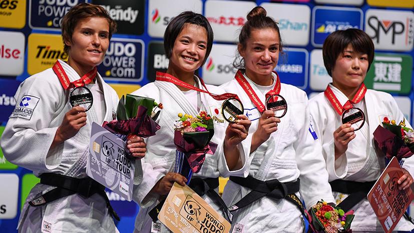 Исторический финал: Кузютина стала первой российской дзюдоисткой, выигравшей серебро на ЧМ