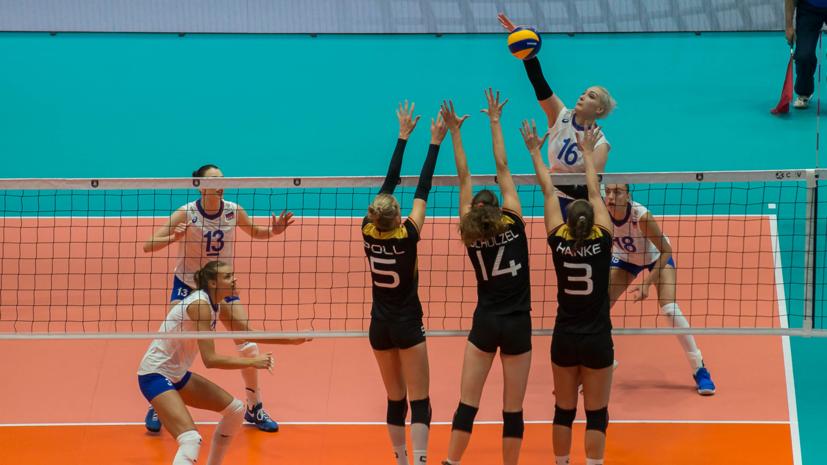Тренера сборной Российской Федерации поволейболу наказали зарасистский жест