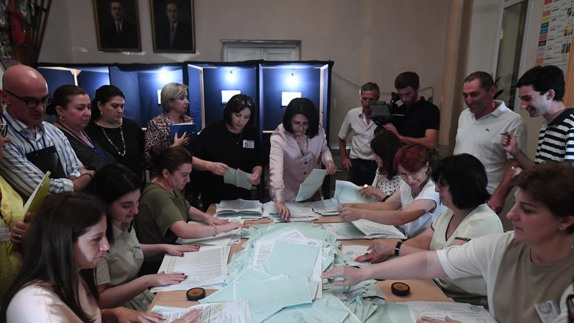 ЦИК Абхазии представила окончательные данные по президентским выборам
