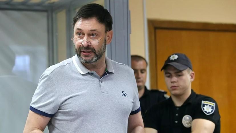 Вышинский освобождён из-под стражи в зале суда