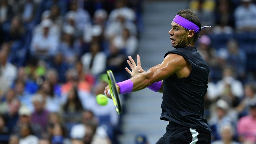 Надаль стал участником третьего круга US Open не выходя на корт