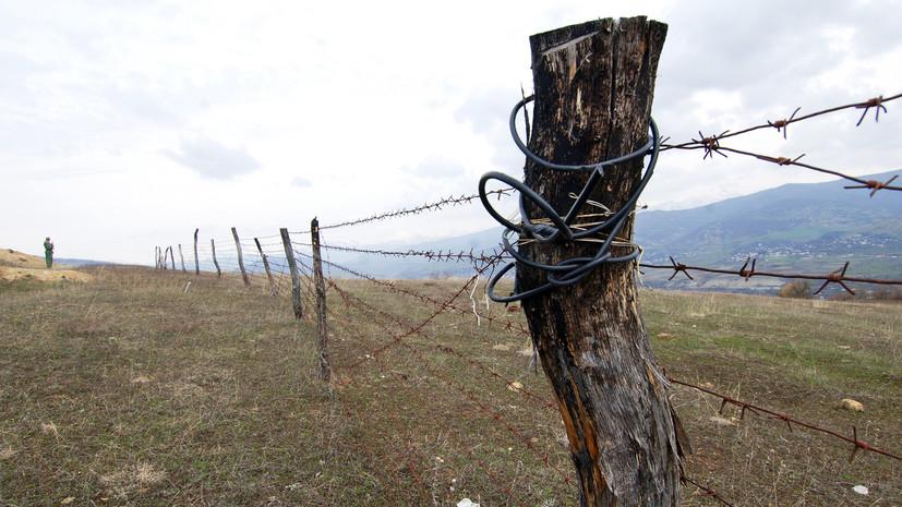В США прокомментировали ситуацию на границе Грузии и Южной Осетии