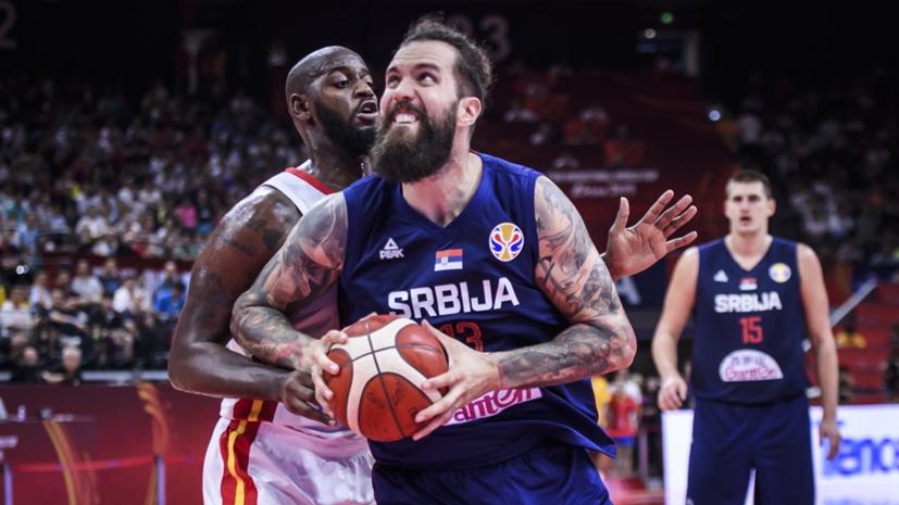Сборная Сербии разгромила команду Анголы в стартовом матче ЧМ по баскетболу