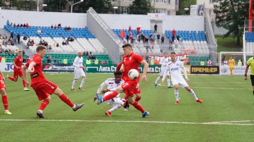 «Оренбург»: Деспотович стал лучшим игроком матча «Уфа»