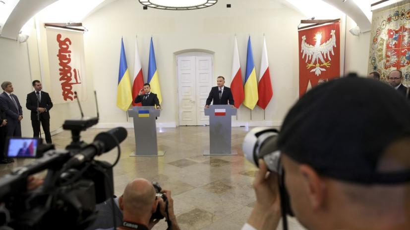 Зеленский назвал угрозой Европе «Северный поток — 2»