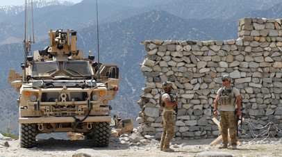 Солдаты армии США в Афганистане