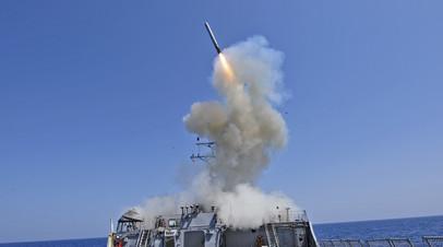 Пуск американской ракеты «Томагавк»